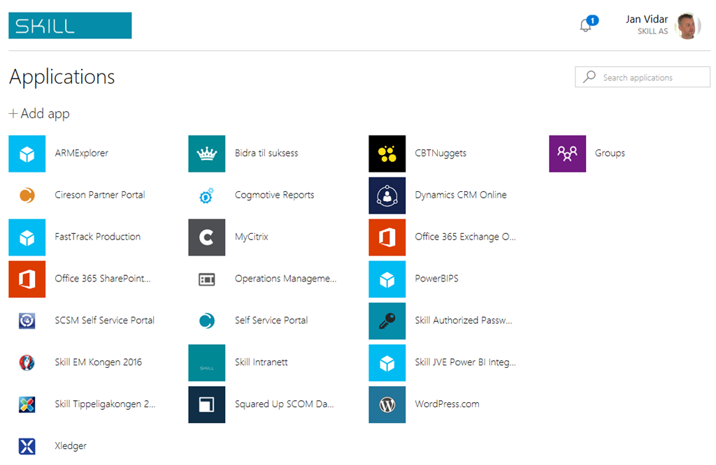 New look coming to Azure Active Directory Access Panel