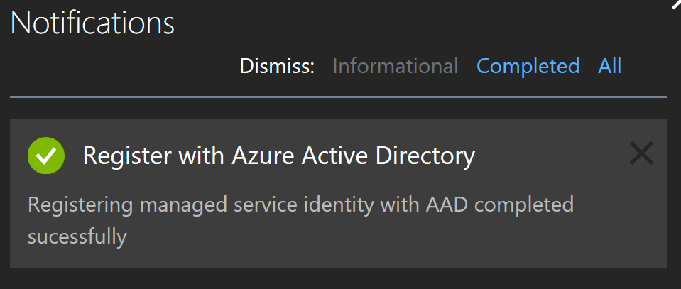 Using Azure AD Managed Service Identity to Access Microsoft