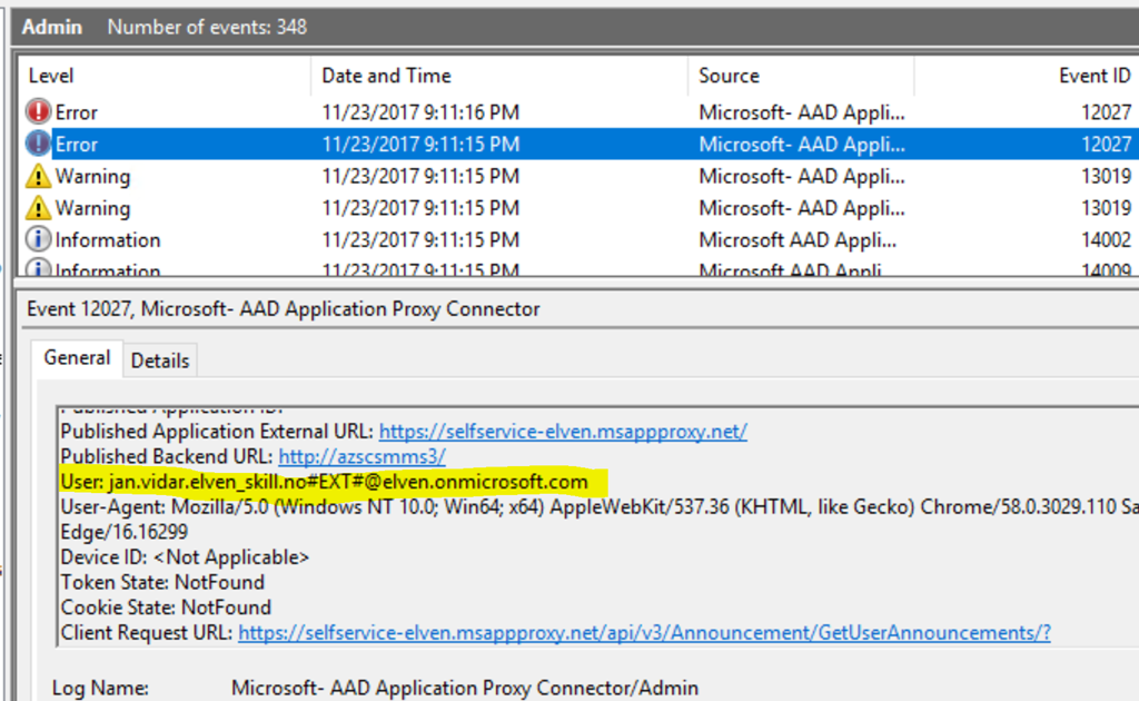 Azure AD B2B Users and Access to Azure AD Application Proxy Apps