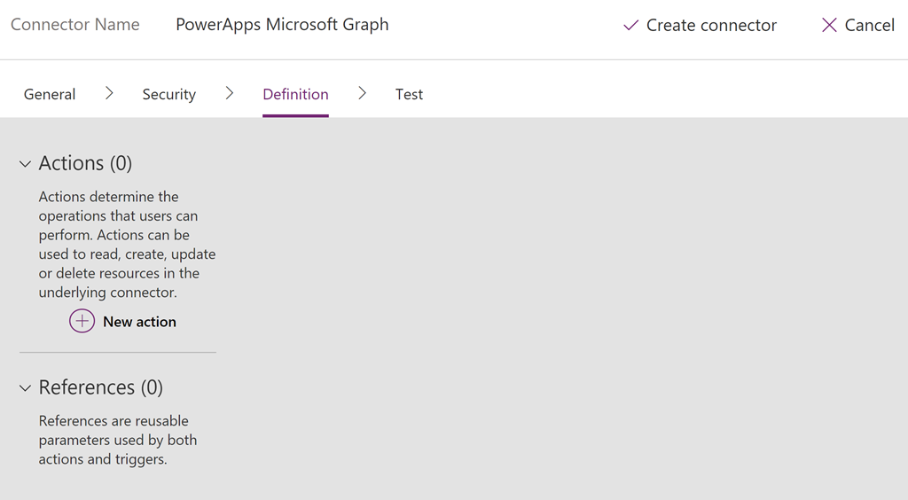 Access Microsoft Graph API using Custom Connector in