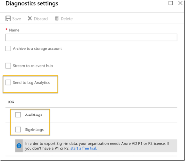 Get started with integration of Azure AD Activity Logs to